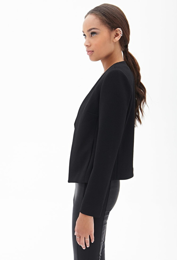 Forever 21 Structured Quilted Jacket