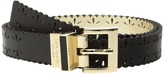 Kate Spade 1 Saffiano Perforated Reversible Belt Women's Belts
