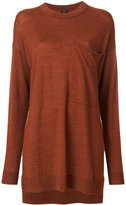 Joseph oversized crew neck jumper - women - Merino - S