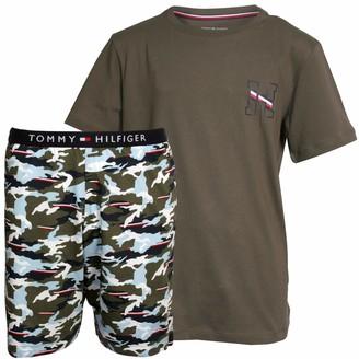Tommy Hilfiger Boy's SS Short Set Print Pyjama