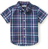 Ralph Lauren Baby Boys 6-24 Months Plaid Short-Sleeve Shirt