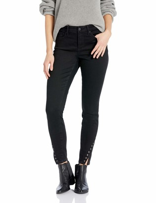 NYDJ Women's AMI Skinny Ankle with TWSTED Hem Grommet Jean