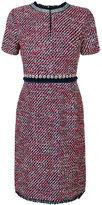 Tory Burch short sleeve tweed dress