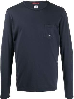 C.P. Company pocket-logo long-sleeve T-shirt