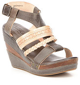 Bed Stu Jaslyn Braided Wedge Sandals