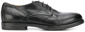 Premiata worn-out effect derby shoes