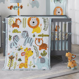 Lambs & Ivy Dena Happi Jungle 4 PieceCrib Bedding Set