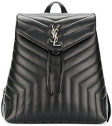 Saint Laurent medium LouLou backpack - women - Calf Leather - One Size