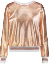 Raoul Metallic jersey sweatshirt