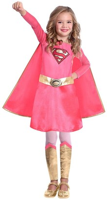 Superman Pink Supergirl Costume