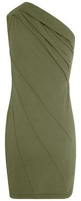 RtA Arie One-Shoulder Mini Dress