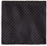 Armani Collezioni Diagonal Stripe Pocket Square