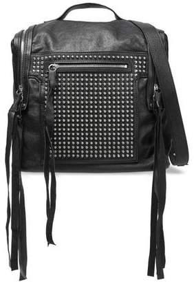 McQ Loveless Medium Convertible Studded Leather Backpack