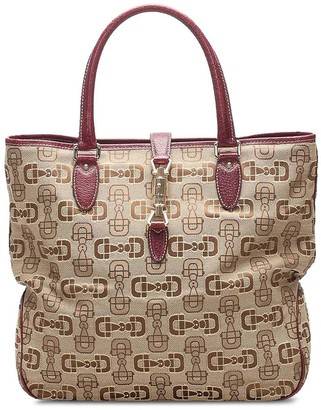 Gucci Pre-Owned Guccissima New Jackie tote bag