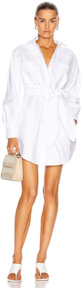 Marissa Webb Emmerson Shirt Dress in White | FWRD
