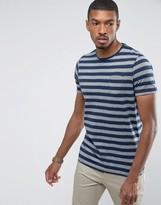 Brave Soul Yarn Dye Stripe Pocket T-Shirt