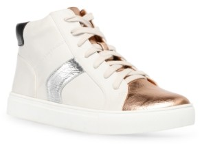 Dv Dolce Vita Alvira Lace-Up High-Top Sneakers Women's Shoes