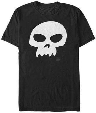 Fifth Sun Sid Skull Costume Mens Crew Neck Short Sleeve Toy Story Graphic T-Shirt
