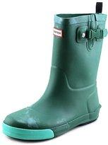 Hunter Kids Youth US 3 Green Rain Boot