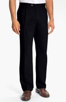 Cutter & Buck Men's Double Pleated Microfiber Pants