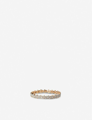THE ALKEMISTRY Kismet by Milka star rose-gold and diamond ring