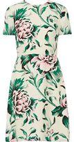 Burberry Printed Silk-Georgette Dress