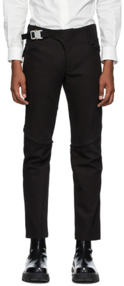 Alyx Black Crescent Zip Trousers