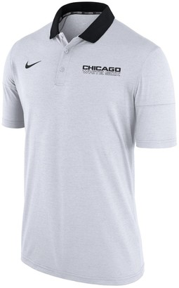 Nike Men's Heather White Chicago White Sox GM Touch Polo