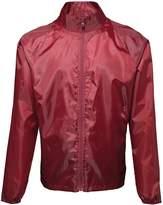 2786 Unisex Lightweight Plain Wind & Shower Resistant Jacket (M)