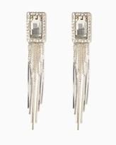 Charming charlie Studio Chic Fringe Earrings