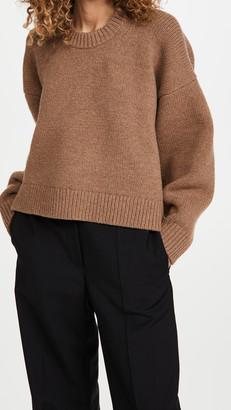 Alexander Wang Mock Neck Drape Back Pullover