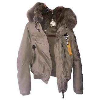 Parajumpers Beige Fox Coat for Women