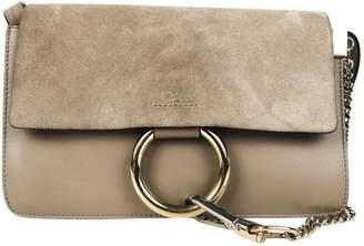 Chloé Faye Grey Suede Handbags