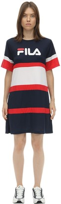 Logo Nylon T-Shirt Dress