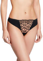 Simone Perele Java Suisse-Embroidered Thong