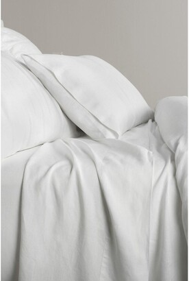 Sheridan Abbotson Fitted Sheet in White White King