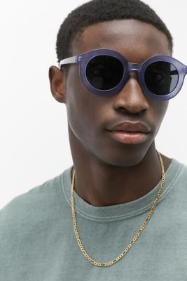 Urban Outfitters Kobe Navy Frost Sunglasses - Blue ALL at