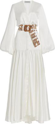 Silvia Tcherassi Felicity Silk Maxi Dress
