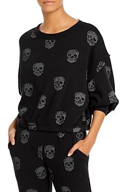 Vintage Havana Skull Print Sweatshirt