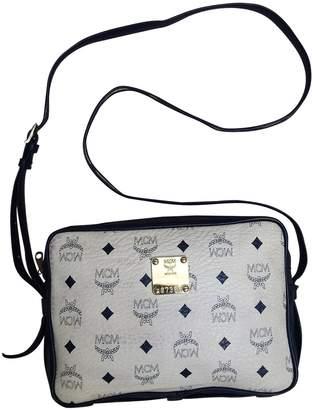 MCM White Leather Handbags