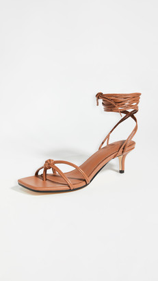 Mara & Mine Olympia Kitten Heel Sandals