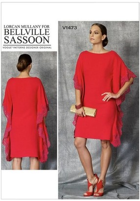 Vogue Women's Pullover Dress Sewing Pattern, 1473