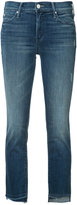 Mother cropped skinny jeans - women - Cotton/Polyester/Spandex/Elastane - 25
