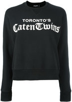 DSQUARED2 Toronto's Caten Twins sweatshirt - women - Cotton - XS