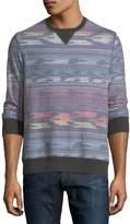 Sol Angeles Madrugada Geometric Sweatshirt