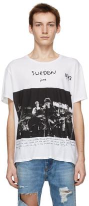 R 13 White Anton Corbijn Edition U2 Sweden T-Shirt