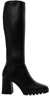 Schutz Malena Lug-Sole Leather Boots