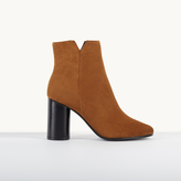 Maje Suede high-heeled ankle boots