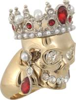 Alexander McQueen Royal Skull ring