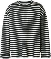 Juun.J striped sweatshirt